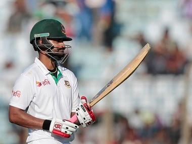 File photo of Bangladesh batsman Tamim Iqbal. AP