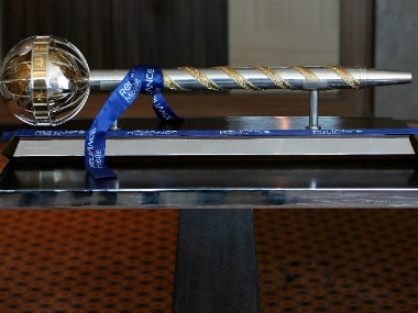 The Test Championship Mace will be presented to India skipper VIrat Kohli. Getty Images