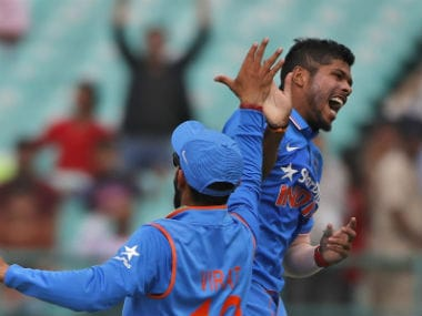 India vs New Zealand: Umesh Yadavs fielding a benchmark for speedsters, says R Sridhar