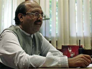 FIle image of Amar Singh. Reuters