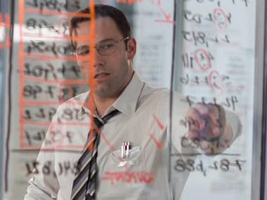 Ben Affleck in a still from the film.