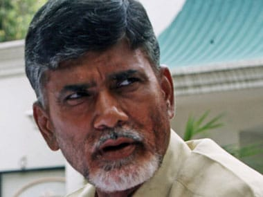 File image of Andhra Pradesh CM Chandrababu Naidu. News 18