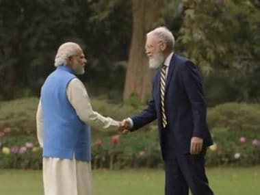 Watch: PM Modi talks to David Letterman about climate change and clean energy