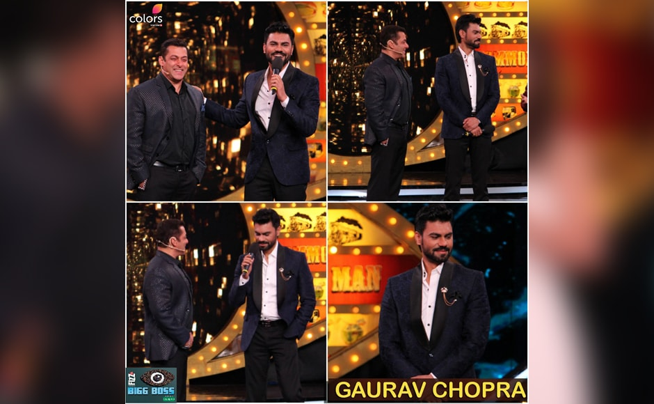 Among the contestants to make a splash at the premiere was Gaurav Chopra. Unfortunately, Gaurav was already on the list of contestants nominated for eviction by the end of the first episode, say reports.