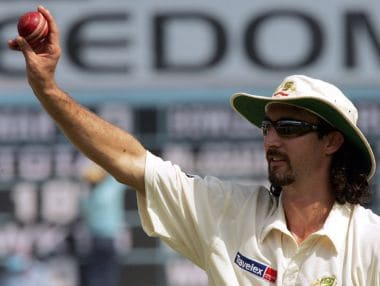 File photo of Jason Gillespie. Reuters