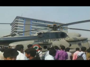 Indian Air Forces Mi-17 crash-lands in Uttarakhand, all passengers reported safe