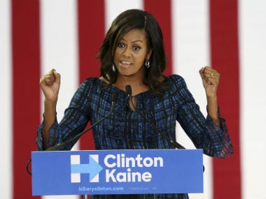 File image of First Lady Michelle Obama. AP