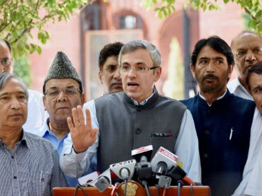 File image of National Conference leader Omar Abdullah. PTI