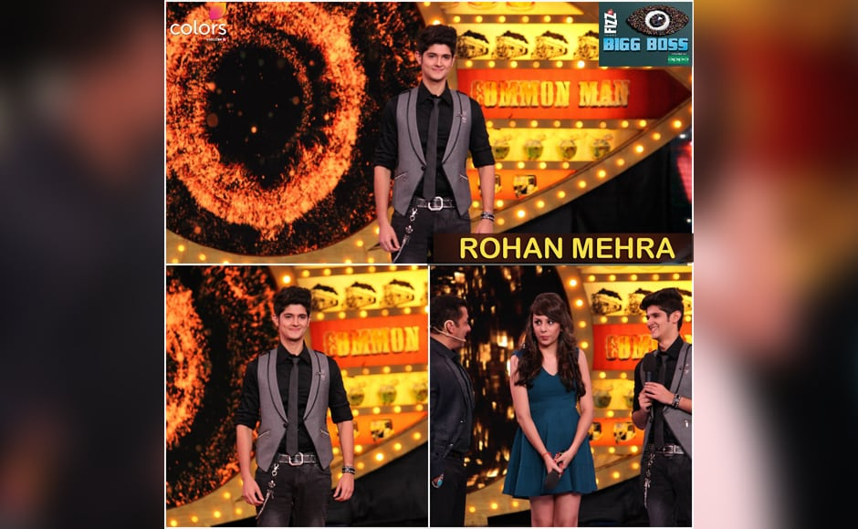 TV actor Rohan Mehra makes his entry on the sets. Incidentally, his co-star from 'Yeh Rishta Kya Kehlata Hai' Karan Mehra (who played Rohan's onscreen dad before quitting the show) is also part of season 10.
