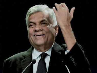 File image of Sri Lanka Prime Minister Ranil Wickremesinghe . PTI