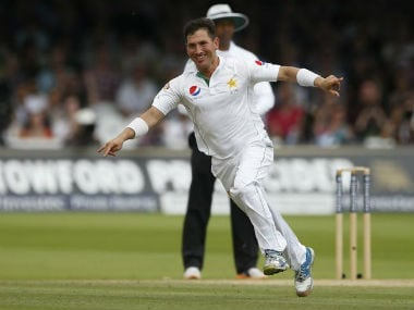File photo of Pakistan leg-spinner Yasir Shah. Reuters