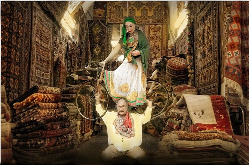 The Exit of Shirin and Farhad, 2011, 70 x 105 cms., Ultrasmooth Fine Art Paper, Limited Edition.