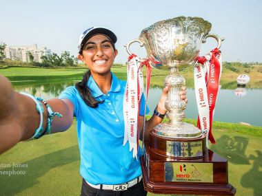 Aditi Ashok clinches Hero Indian Open, becomes first Indian woman to win the title