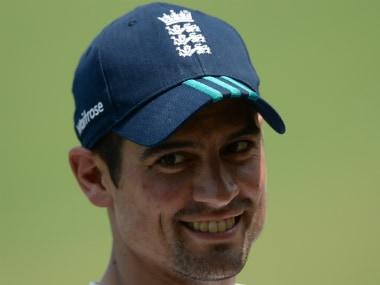 England captain Alastair Cook. AFP