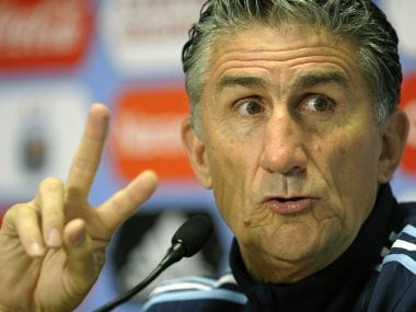 Argentina must take risks against Colombia to keep World Cup hopes alive, says coach Edgardo Bauza