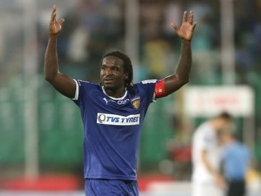 ISL 2016: Chennaiyin FC captain Bernard Mendy constantly fuelled by challenges and cheers