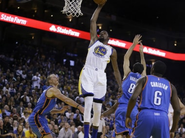 Kevin Duran't 39 points gave the Warriors a much needed boost and secured their victory. AP