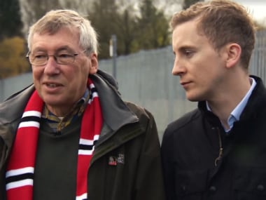Watch: Manchester United fan reunited with duo who saved his life after heart attack at Old Trafford