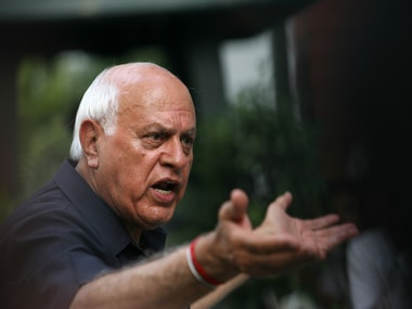File image of former Jammu and Kashmir Chief Minister Farooq Abdullah. Reuters