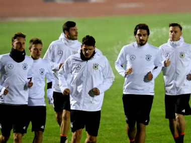 World Cup qualifiers: Sami Khedira to captain Germany in Manuel Neuers absence