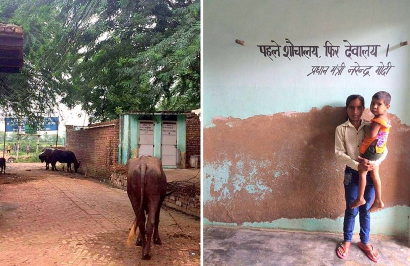 Good sanitation has impacted the general cleanliness in the village. Hirmathala has made Modi's toilets before temples mission a success.