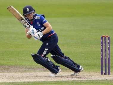 England captain Heather Knight. Reuters file image