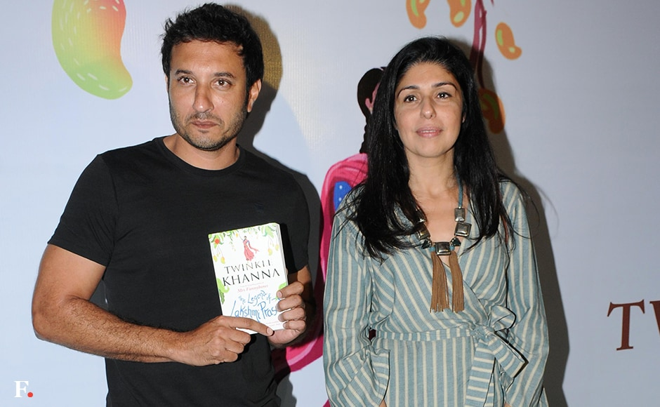 Homi Adajania with Anaita Shroff Adajania at the launch. Sachin Gokhale/Firstpost
