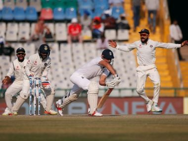 India vs England, 3rd Test: Alastair Cook and Co go from bad to worse as they face another loss