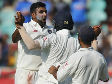 India vs England: Spinners put hosts on top after visitors batting collapse