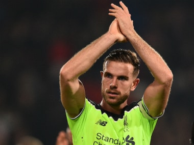 File image of Jordan Henderson. AFP