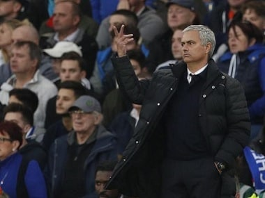File photo of Manchester United manager Jose Mourinho. Reuters