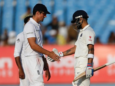 India vs England: Virat Kohli steers hosts to draw after flurry of wickets