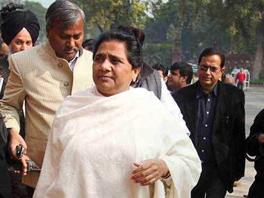 Mayawati. PTI