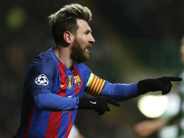 Champions League: Barcelona, Manchester City through to last 16; Arsenal-PSG play out thrilling draw