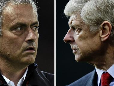 Mourinho Wenger AFP