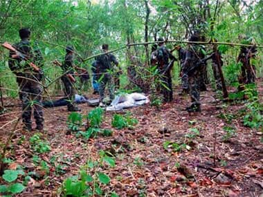 Chhattisgarh: 5 naxals gunned down by security forces in maoist hotbed Bastar