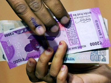 Rupee nears record low against dollar on Fed hike, demonetisation fears; RBI seen intervening
