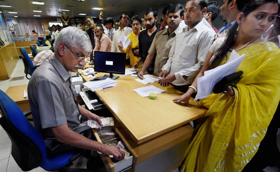 After the government scrapped Rs 500 and Rs 1,000 notes, banks were shut on Wednesday, and ATMs were supposed to be out of service for re calibration on Wednesday and Thursday. The banks reopened on Thursday to a massive increase in footfall as people rushed to get their old currency notes exchanged. PTI