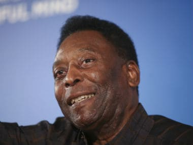 Pele underwent a hip surgery last year. AP
