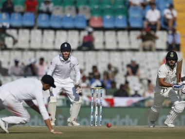 India vs England, 3rd Test: Visitors left frustrated at Tea by Cheteshwar Pujara, Virat Kohli