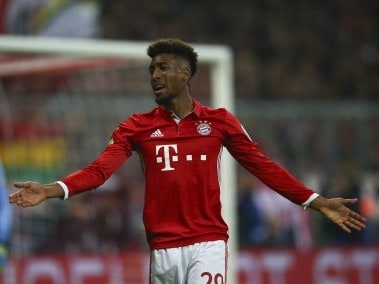 Bayern Munichs Kingsley Coman ruled out for two months due to injury