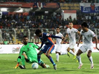 ISL 2016: Target fades for tepid FC Goa after goalless home draw with Mumbai City FC