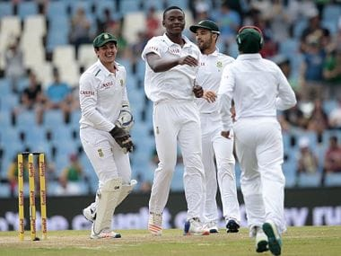 File photo of South African cricket team.