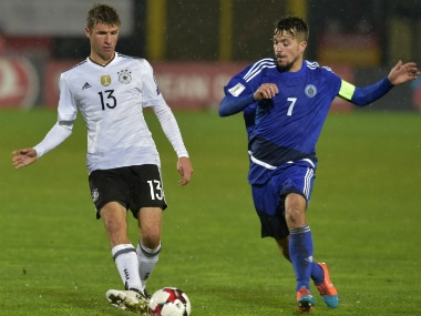 San Marino hit back at Germanys Thomas Mueller after he calls them a team of amateurs