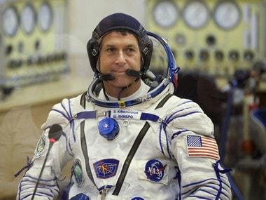 U.S. astronaut Shane Kimbrough. AP