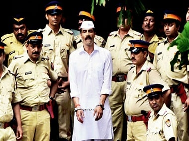 Arjun Rampal in a still from 'Daddy', which got leaked days ago.