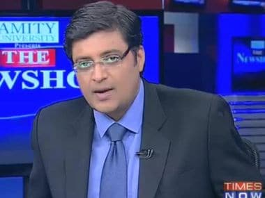 Arnab Goswami signs into last evening at Times Now, will exit without a big bang