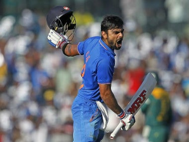 File picture of Virat Kohli. AFP