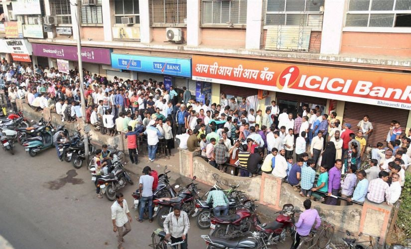 Demonetisation: Nearly 10 days in, the pain has yet to ease for the common man