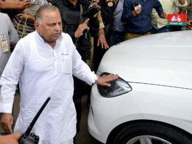 File image of Mulayam Singh Yadav. PTI